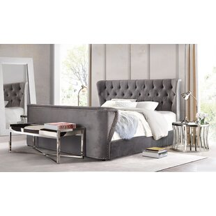 Diamond Sofa Allure Upholstered Platform Bed