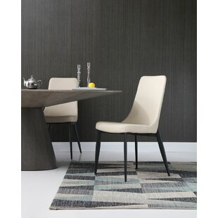 Diep Upholstered Dining Chair (Set of 2)