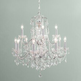 Axton 12-Light Candle Style Chandelier by House of Hampton