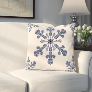 Hume Holiday Print Throw Pillow