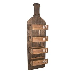 Lima 4 Bottle Wall Mounted Wine Rack By Williston Forge