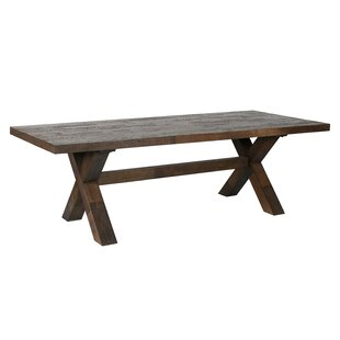 Weisor Solid Wood Dining Table Kosas Home