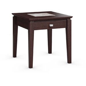 Galleon End Table with Power Station by Cara..