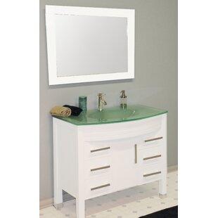 Jessa 36 Single Bathroom Vanity Set with Mirror by Ivy Bronx