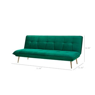 Champlin Convertible Sofa by Mercer41 New Design