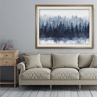 \'Indigo Forest\' Print
