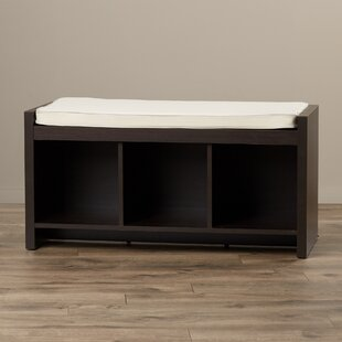 Claudia Storage Bench with Cushion by Zipcode Design