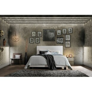 Correia Queen Upholstered Panel Bed