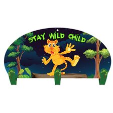 Stay Wild Child 3 Hook Coat Rack by Next Innovations