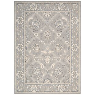 Abigale Light Brown Area Rug by Red Barrel Studio
