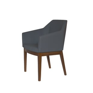 Schiff Upholstered Dining Chair by Wrough..