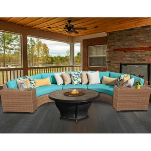 Medina 6 Piece Sectional Seating Group with Cushions