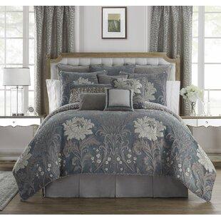 Ansonia 4 Piece Reversible Comforter Set