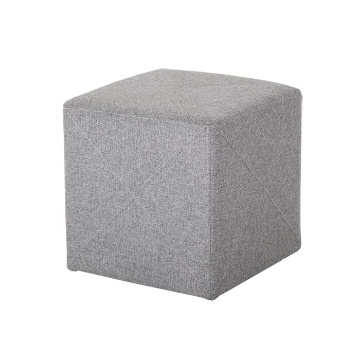 Brilliant Fishback Jackson Cube Ottoman Squirreltailoven Fun Painted Chair Ideas Images Squirreltailovenorg