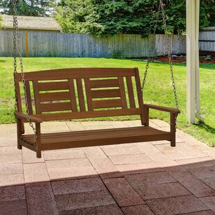 Arianna Hardwood Hanging Porch Swing