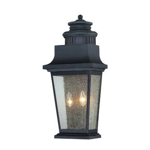 Best Reviews Covarrubias 2-Light Outdoor Flush Mount By Darby Home Co