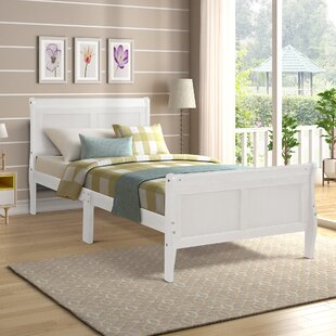 Uhrichsville Wood Twin Platform Bed by Harriet Bee