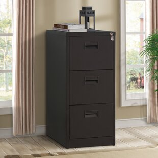 Willingham 3-Drawer Mobile Vertical Filing Cabinet