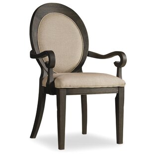Corsica Upholstered Dining Arm Chair (Set of 2)