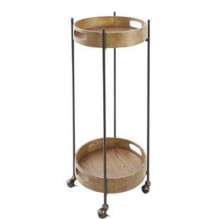Ginnie 2-Tier Round Bar Cart