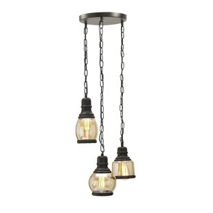 3-Light Cluster Pendant by Cole & Grey