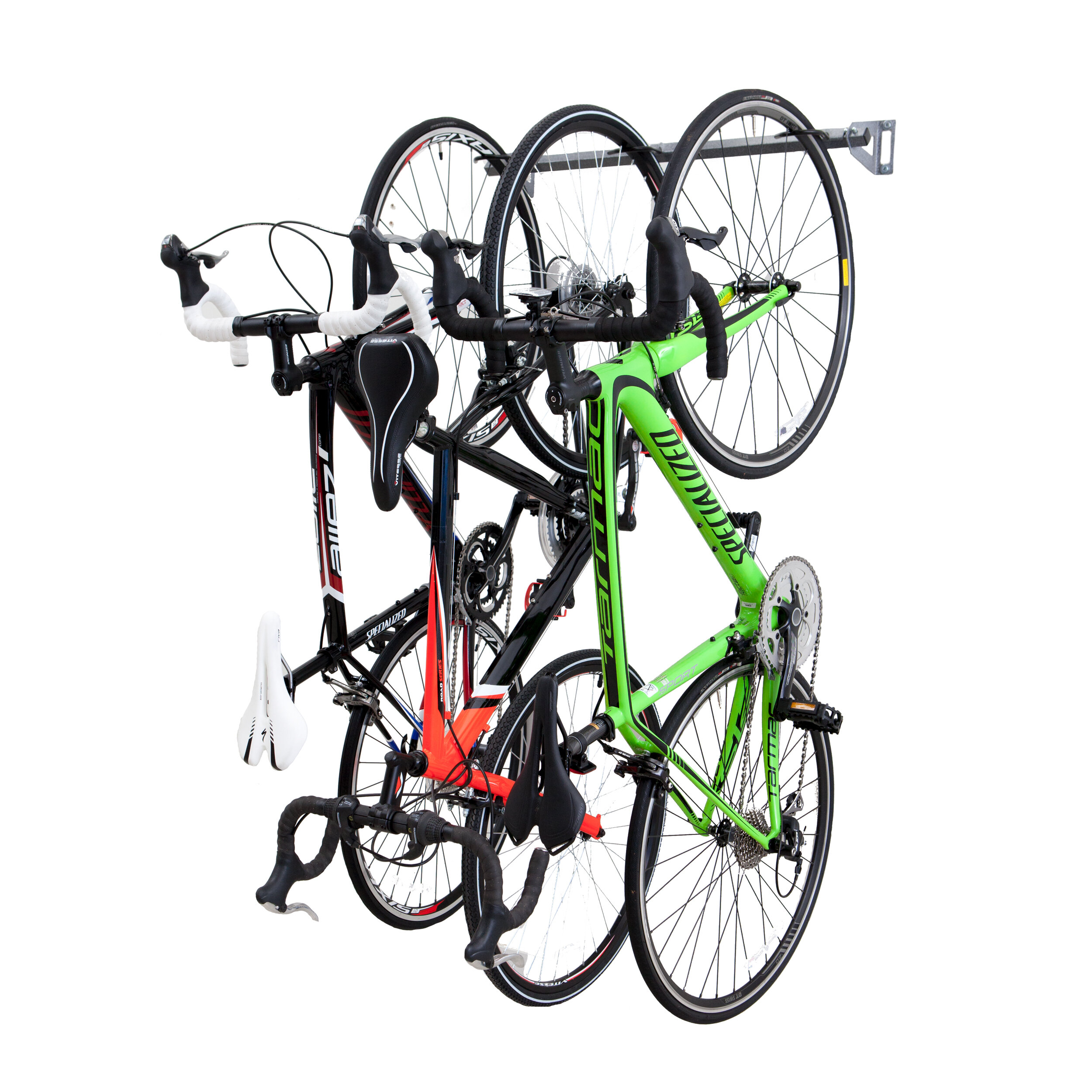 system way for wall multiple hang without dahanger in hanging rhyoutubecom s bike a rack garage your to or easy pulley