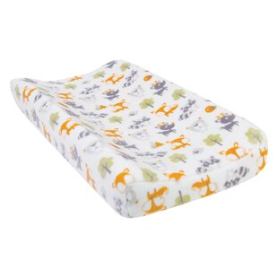 Compare Unknow Forest Pals Plush Changing Pad Cover By Harriet Bee
