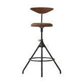 Seabrooks Swivel Adjustable Height Stool by 17 Stories