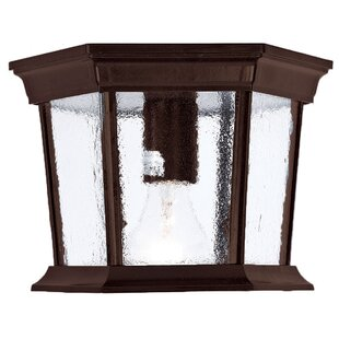 Compare Grenville LED Outdoor Flush Mount By Darby Home Co