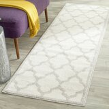 Maritza Geometric Beige/Gray Indoor/Outdoor Area Rug