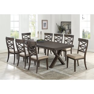 Cho 9 Piece Dining Set Gracie Oaks
