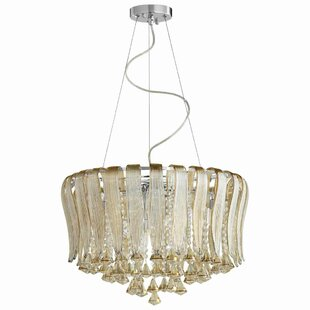 Gatun 8-Light Crystal Chandelier by Rosdo..