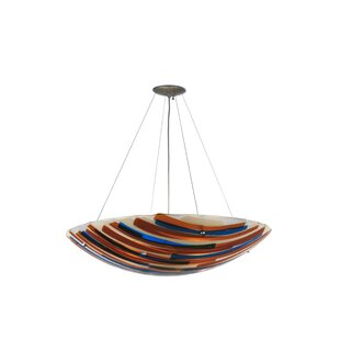 Meyda Tiffany Oceano 4-Light Bowl Pendant