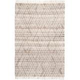 Kurtis Handwoven Flatweave Wool/Cotton Gray Area Rug