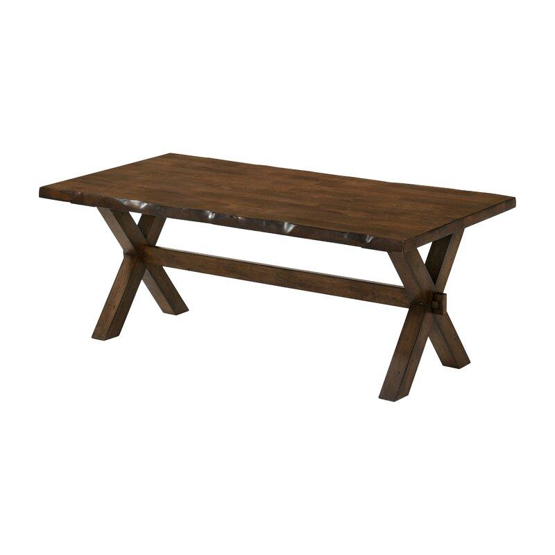 Foundry Select Esmeralda Cross Legs Coffee Table Wayfair