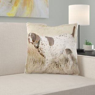 German Shorthair Pointer Pillow Cover