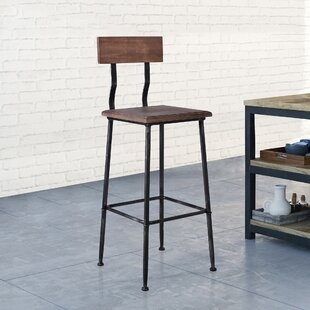 Anzavia Metal 29.53 Bar Stool - set of 4 (Set of 4) by Williston Forge