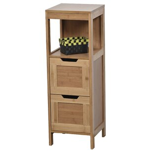 Mahe Bathroom Freestanding 11.13 W x 35.5 H Cabinet by Evideco
