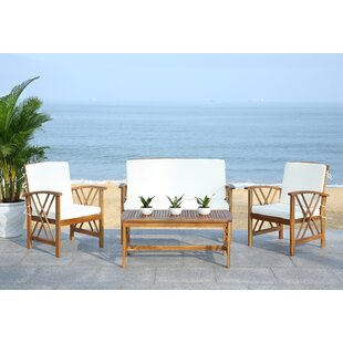 Chandler 4 Seater Sofa Set By Bay Isle Home