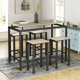 Bryse 5  Piece Counter Height Dining Set