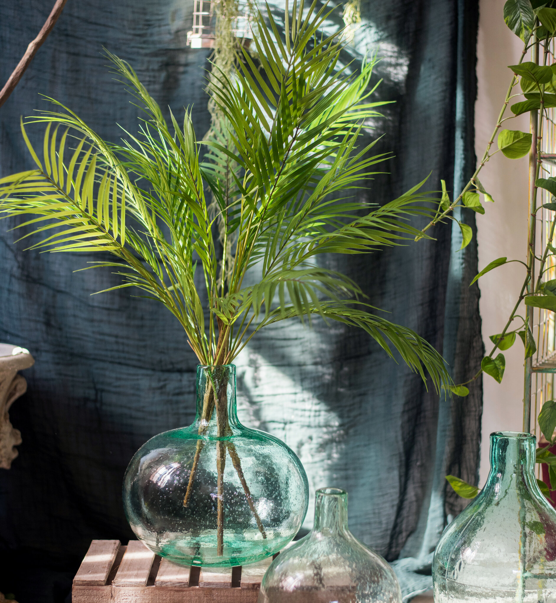 Bay Isle Home 5 Piece 9 Leaf Stem Artificial Bundle Kwai Grass Set Wayfair