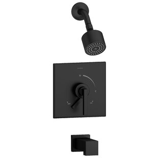 Symmons Duro Volume Tub and Shower Faucet with Valve