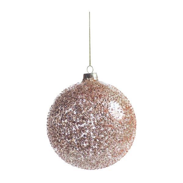 The Holiday Aisle Beaded Ball Ornament Wayfair