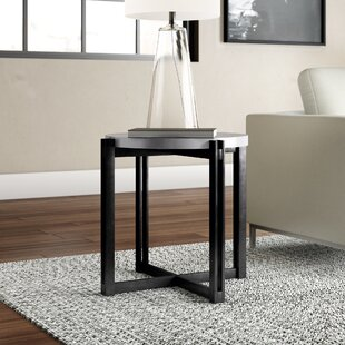 Baran End Table by Ivy Bronx