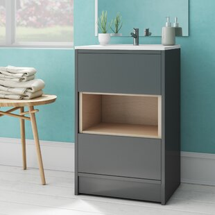 Review Coast 510mm Free-standing Vanity Unit