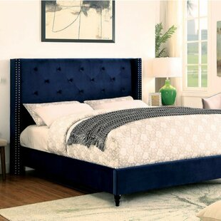 Coupon Lint Contemporary Upholstered Panel Bed by House of Hampton Reviews (2019) & Buyer's Guide