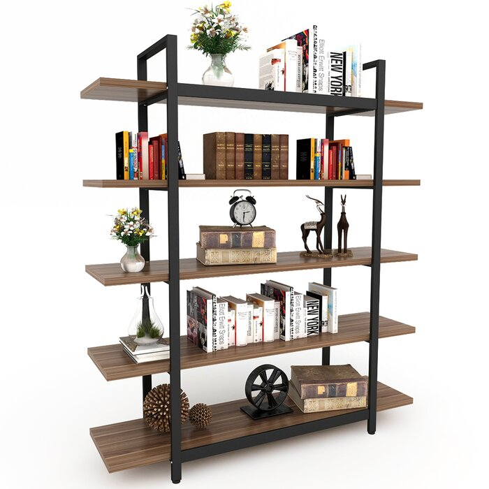 Williston Forge Melia Vintage Industrial Style 5 Tier Etagere