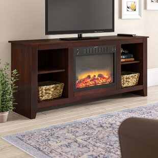 Brook Hollow TV Stand TVs up to 60 with Fireplace by Alcott Hill