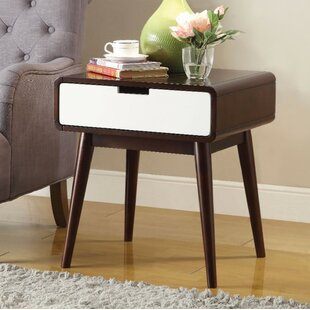 Wiggs 1 Drawer Nightstand by George Oliver