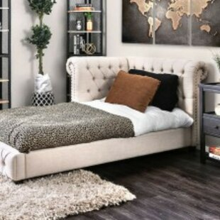 Barhorst Twin Upholstered Platform Bed by Canora Grey